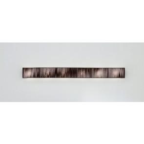 Axo Light Clavius AP Clav GR, 2 x G5, 180 x 18 cm, tabakfarben
