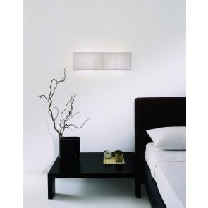 Axo Light Clavius AP Clav PI, 2 x E14, 60 x 18 cm, tabakfarben