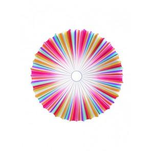 PL Mus 120, 1 x 2GX13, Ø 120 cm, mehrfarbig