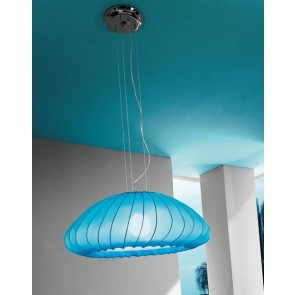 Axo Light SP Muse, 1 x E27, Ø 80 cm, hellblau