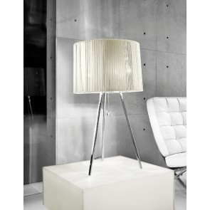 LT Obi, 3 x E27, Höhe 83 cm, weiß