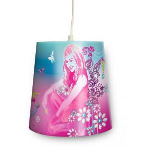 Hannah Montana Uno Höhe 22,1 cm pink 1-flammig rund