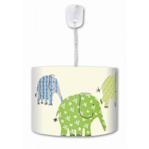 Waldi Leuchten Designers Guild Elefant Uno grün