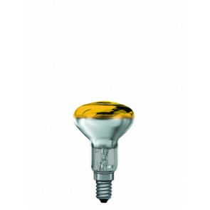 R50 E14 25W 5 cm, gelb