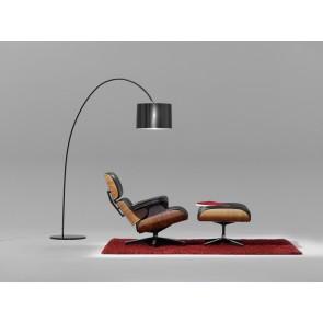 Helestra Roxx, Höhe 188,8 cm, geriffelter PVC-Schirm, schwarz