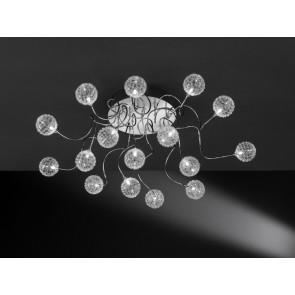 Astro, 16-flammig, Ø 106 cm, inkl LED