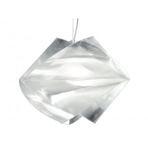 Gemmy Prisma, E27, Ø 42 cm, silber