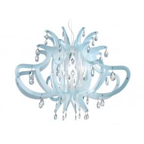 Medusa, Ø 83 cm, Blau