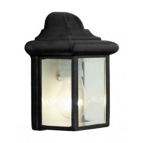 Newport, 1-flammig, rechteckig, schwarz