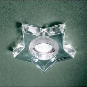 Sd-Star Recessed Gu10 Polished Crystal T-Lock