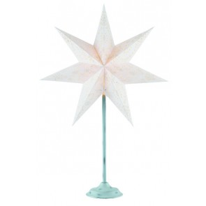Aratorp Stjärna 45 cm Offwhite PÅ Antikvit Fot