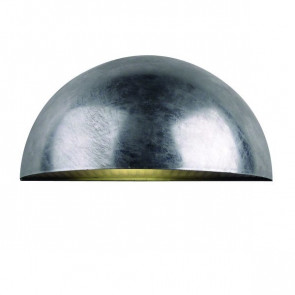 Bowler, E27, IP44, metallisch