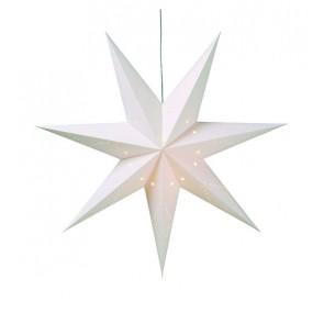 Saturnus ADV Stjärna Vit Papp 1x1m