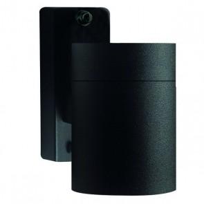 Tin, GU10, IP54, Höhe 12 cm, schwarz