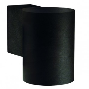 Tin Maxi, Höhe 10 cm, Ø 7,6 cm, IP54, schwarz