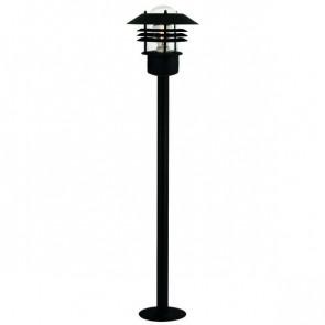 Vejers Höhe 92 cm schwarz 1-flammig rund