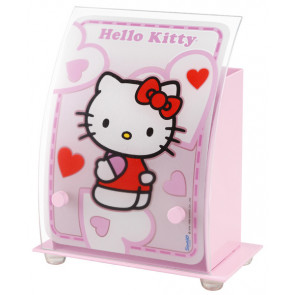 Hello Kitty Höhe 21 cm rosa 1-flammig halbrund