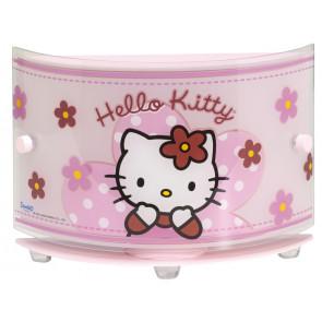 Hello Kitty Breite 22 cm rosa 1-flammig halbrund