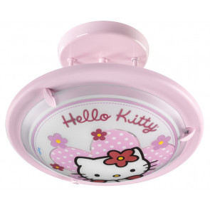 Hello Kitty, Ø 35 cm, rosa, E27