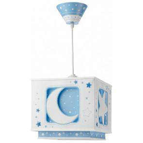 Moonlight, E27, 24 x 24 cm, blau