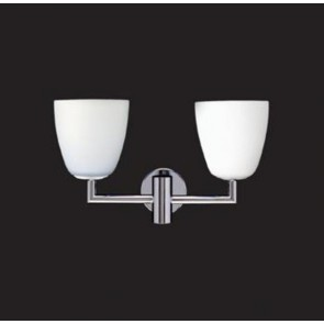 Schirm (V006BI) für 006/1 u. 006/2 Wall, weißes Glas