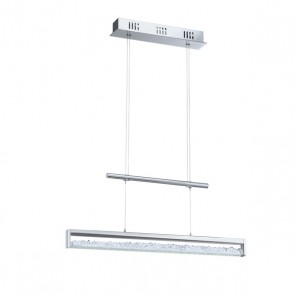 Cardito, LED, Länge 70 cm, Höhenverstellbar, Kristall