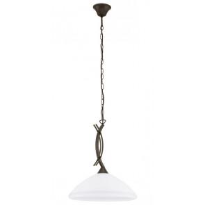 Vinovo, E27, IP20, Höhe 110 cm, 1-flammig, dunkelbraun