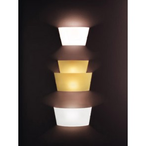 Aliki, 41X31 cm, Gold-Weiß, E27+R7S