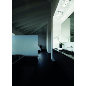 Chimera 09 Dl, 40X35 cm, Kristallglas Gestreift, E27