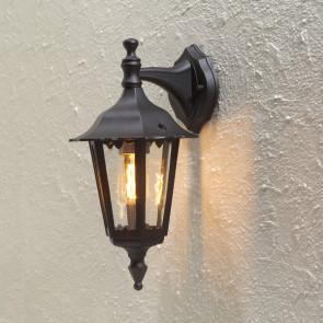Firenze, E27, IP43, dimmbar, Höhe 39 cm, schwarz