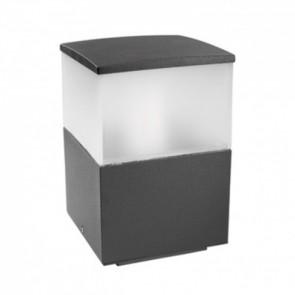 Cubik, Höhe 23 cm, anthrazit