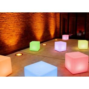 moree Cube LED Pro Accu, Farbwechsel, Höhe 45 cm, Fernbedienung