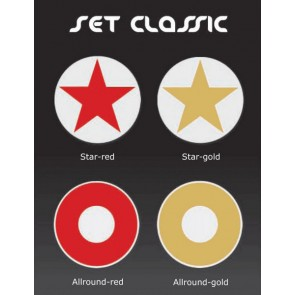moree Dekorauflage Classic Star red