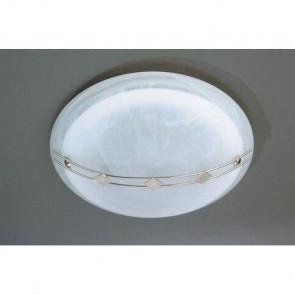 Bartono Ø 32 cm weiß 1-flammig rund
