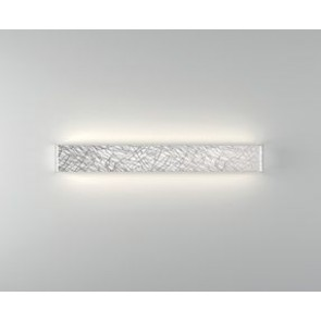 Block P65 Led 40W 2700K Glass Platinum Ip20