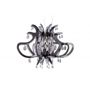 Medusa, Ø 83 cm, zinnfarben