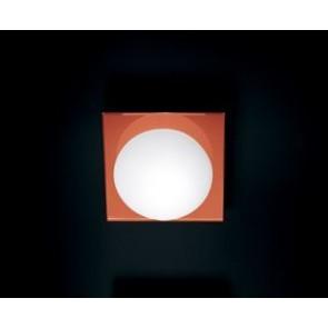 Minigio' P-Pl White-Orange Square