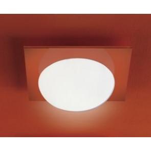 Gio 40X40 P-Pl White - Orange Square