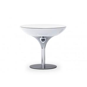 Lounge 75, Höhe 75 cm, Ø 84 cm, ohne Beleuchtung, inkl. Glasplatte