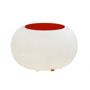 Bubble Indoor mit rotem Filzkissen