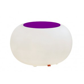 Bubble Indoor mit violettem Filzkissen