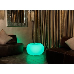 Bubble Indoor LED Pro Accu mit Glasplatte