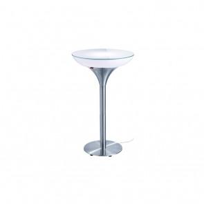 moree Lounge M 105 Indoor, E27, Höhe 105 cm, Ø 60 cm, inkl Glasplatte