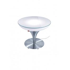 Lounge M 45 Outdoor, E27, Höhe 45 cm, Ø 60 cm, inkl Glasplatte