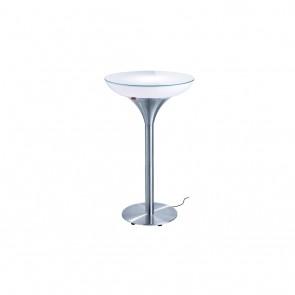 Lounge M 105 Outdoor, E27, Höhe 105 cm, Ø 60 cm, inkl Glasplatte