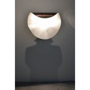 Farbe abweichend; es handelt sich hier um die Leuchte in der Farbe Bronze/Weiß