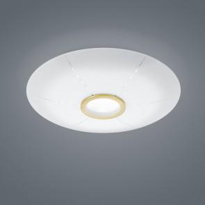 Nori, dimmbar, inkl LED, mattmessing