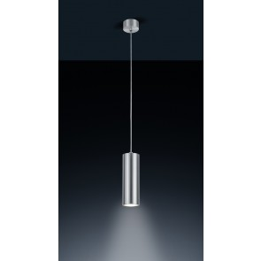 Oso, Silikonkabel, IP44, inkl LED, aluminium matt/ transparent