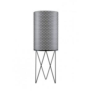 PD2 Floor Lamp, Black shade