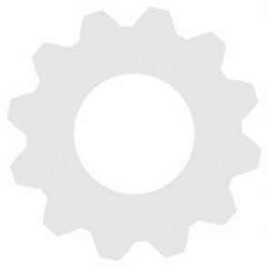 Schirm Ø 26 cm orange rund
